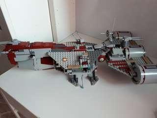 Lego star wars republic frigate 7964 ship
