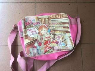 Tas Selempang Minmie Anak Pink Samping Sedang