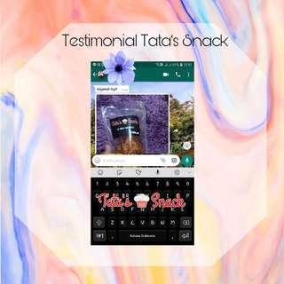 Testimoni Tata's Snack