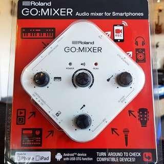 Roland Go Mixer Smartphone Tablet Portable Mixer
