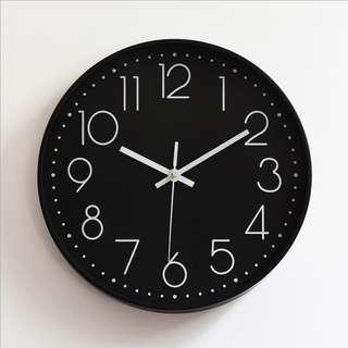 Wall Clock minimalist clock time furniture house decal