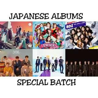 JAPANESE ALBUMS SPECIAL BATCH