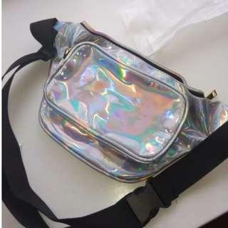 Holographic Belt Bag