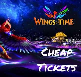 Wings of Time Cheap Tickets