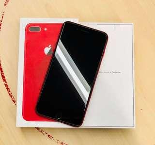 Forsale Iphone 8plus 64gb product red 98% smoothness factory unlocked