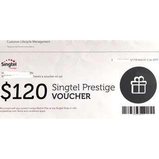 Singtel Voucher worth $120