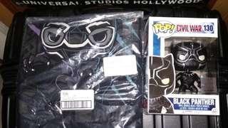 [PRE-ORDER] Black Panther Civil War Funko Pop & XS T-shirt Exclusive Funko Bundle