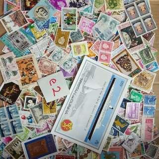 World Mix Stamps 500 pcs lot E2 BM46