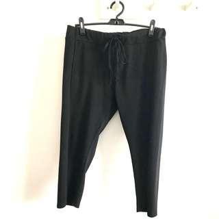 Cotton:On BODY size L black casual 7/8 pants active bottom @sunwalker