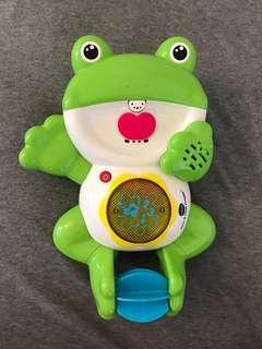青蛙沖涼玩具