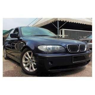 2005 BMW 318i 2.0 Lifestyle [FACELIFT][LIKE NEW][PROMOTION PRICE][320I][328I][325I] 05