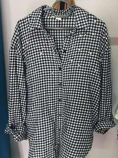 H&M PEARL FLANNEL