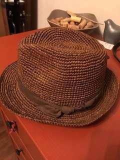 日本胡蝶結草帽