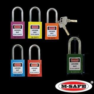 38mmSafety Padlock LOTO Lock Out Tag Out