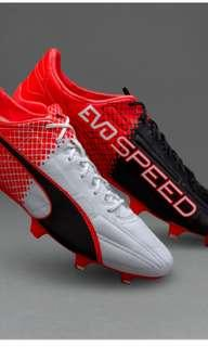 Grade 1 Puma evoSpeed 1 SL Leather FG firm ground soccer cleats