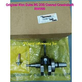 Original Ktm Duke RC 200 Conrod Crankshaft RM900