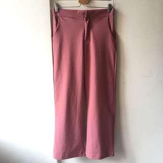Dusty Pink Trousers