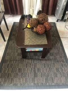 Carpet with Center Table