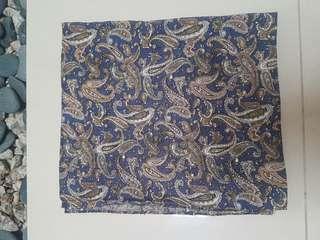 Square scarf cotton