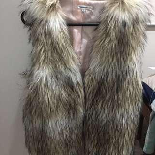 Valley Girl Fur Vest
