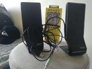 Speaker untuk komputer laptop dan Headphone