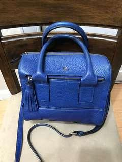 Authentic Kate Spade Pebbled Leather Satchel Bag