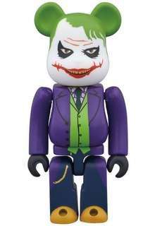 Bearbrick The Joker 400% Baru BNIB The Dark Knight - Laughing Ver. Be@rbrick