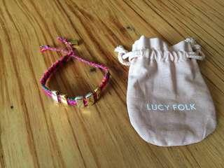 Lucy Folk friendship band
