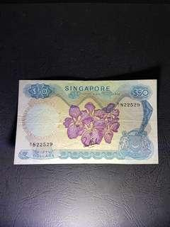 A/1 🇸🇬Orchid🌸 $ 50 LSK No red seal A/1 822529