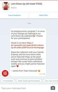 Lets Dress Up (all under 300) THANK YOU CAROUSELL
