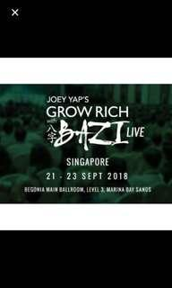 Joey yap grow rich with bazi seminar