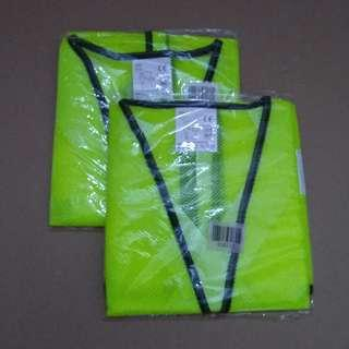 Reflective Safety Vest Netting Fabric Big Size 3xl