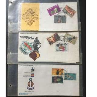 First Day Cover 3 Set