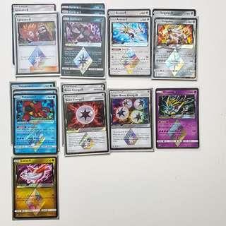 Pokemon cards prism break