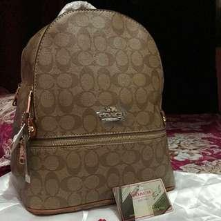 Sale!! Brandnew AuthenticQuality Coach Backpack (Apricot color)