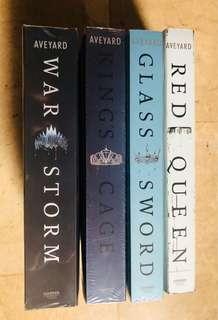 Victoria Aveyards Red Queen Series Complete Set (4 Books)