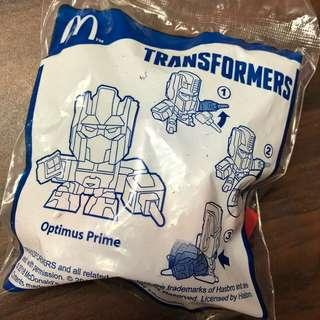 Unopened Happy Meal Toy (Optimus Prime)