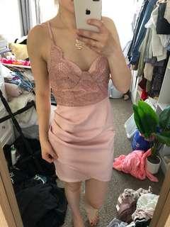 Pink dress size 10