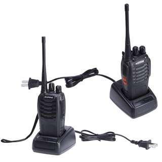 🚚 2x Baofeng Walkie Talkie Long Range 2 way Radio UHF 400-470MHZ