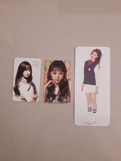 IOI I.O.I Photocards