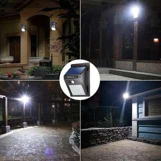 Lampu Solar Motion Sensor