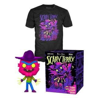 Scary Terry Pop! & Tee Collector's Box
