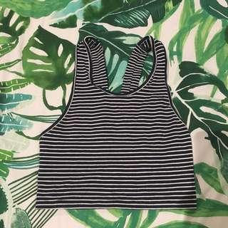 Glassons crop top (F)
