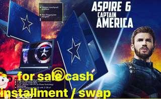 acer avengers captain america limited edition