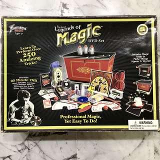 BIG Deluxe Legends of Magic DVD Set