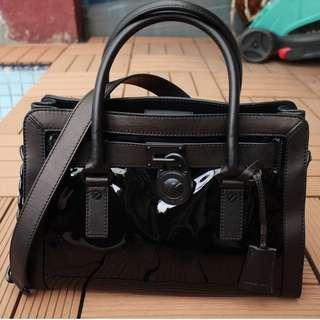NWT Micheal Kors Hamilton EW Satchel Leather Bag