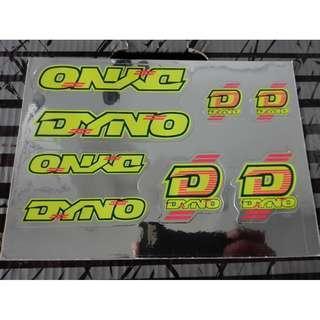 BMX Decal Dyno - ORI
