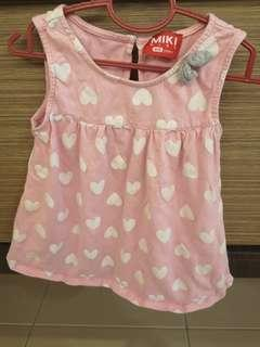 Miki Baby pink top