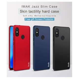 🚚 IMAK Full Cover Slim Hard Case Xiaomi A2 Lite / Redmi 6 Pro