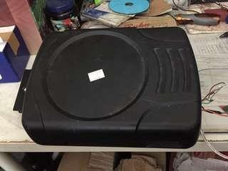 Underseat active subwoofer made in Japan